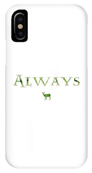 Snape iPhone Case - Always by Lorraine Scotton