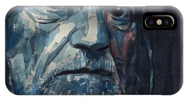 Singer iPhone Case - Always On My Mind - Willie Nelson  by Paul Lovering