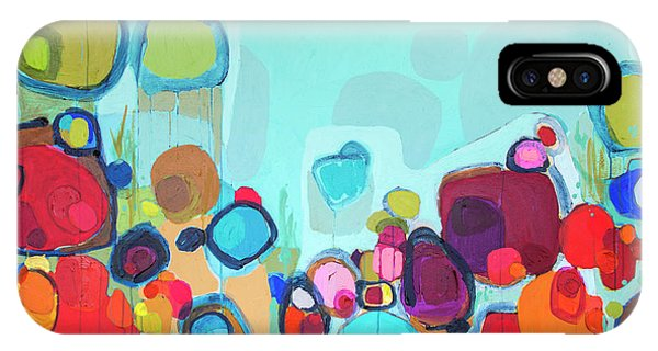 Abstract Expression iPhone Case - Always Will Be by Claire Desjardins