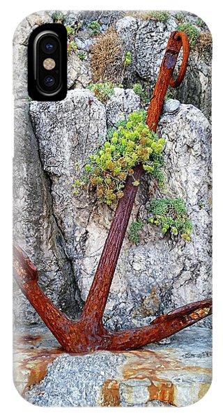 IPhone Case featuring the digital art Amalfi Coast - Positano, Italy by Joseph Hendrix