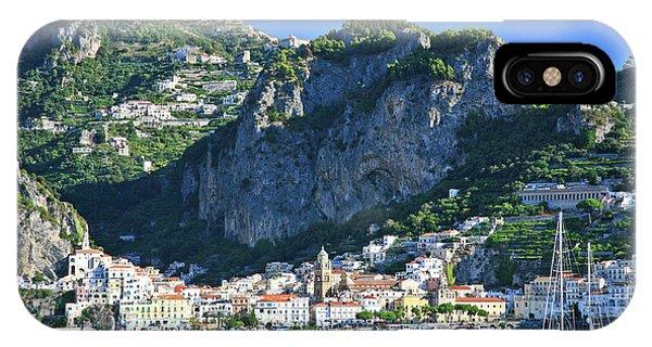 Amalfi Cove IPhone Case