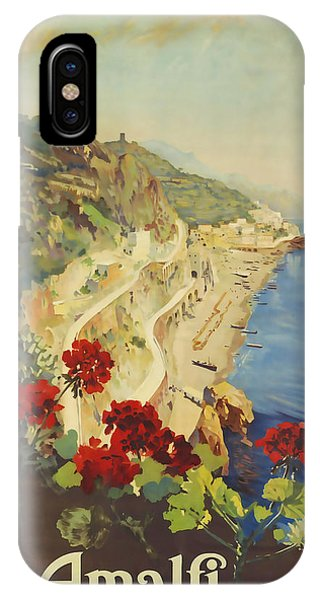 Amalfi Napoli IPhone Case