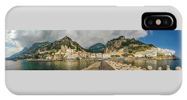 IPhone Case featuring the photograph Amalfi by Steven Sparks