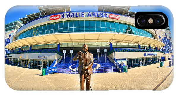 Amalie Arena IPhone Case