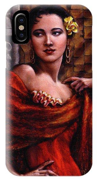 Amarillo Rose IPhone Case