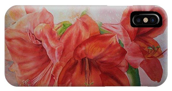 Amarylis IPhone Case
