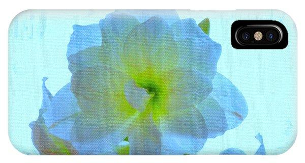 Amaryllis iPhone Case - Amaryllis by Celestial Images