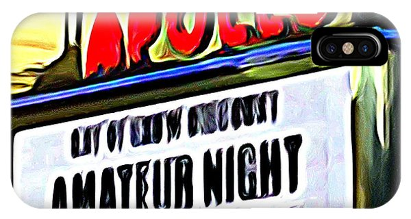 Apollo Theater iPhone Case - Amateur Night by Ed Weidman