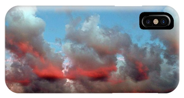 Imaginary Real Clouds  IPhone Case