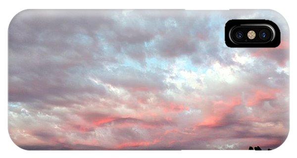 Soft Clouds IPhone Case