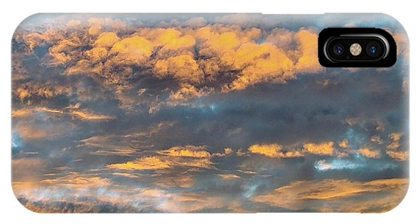 Clouds Of A Different Color IPhone Case