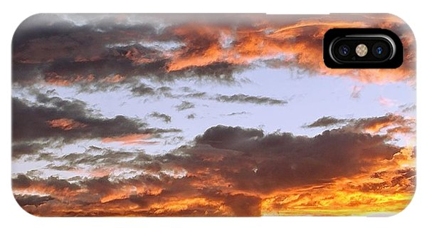 Glorious Clouds At Sunset IPhone Case