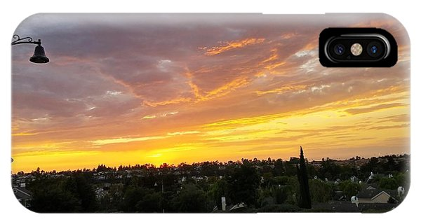 Colorful Sunset In Mission Viejo IPhone Case
