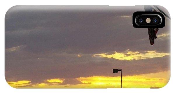 Patriotic Sunset IPhone Case