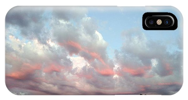 Amazing Clouds At Dusk IPhone Case