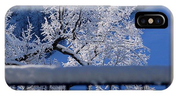 Amazing - Winterwonderland In Switzerland IPhone Case