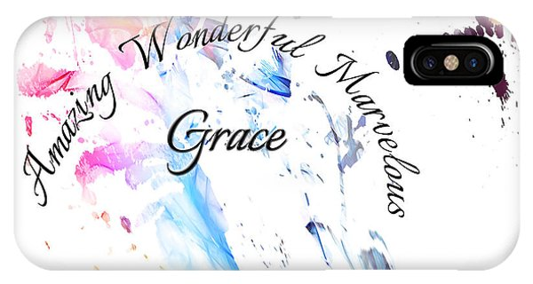 Amazing Wonderful Marvelous Grace IPhone Case