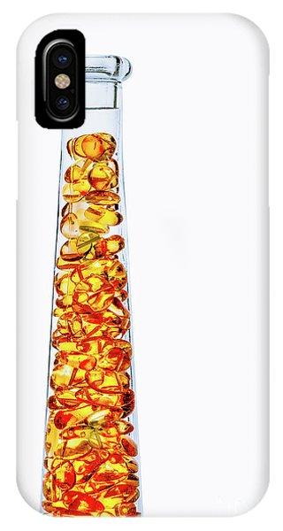 Amber #8429 IPhone Case