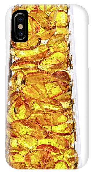 Amber #8527 IPhone Case