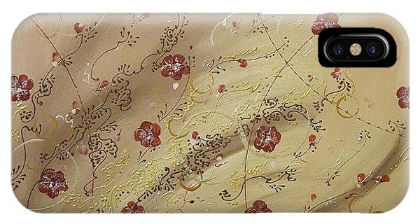 Scarlet Paintbrush iPhone Case - Amber Waves by Cheryle Gannaway