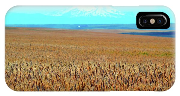 Amber Waves Of Grain IPhone Case