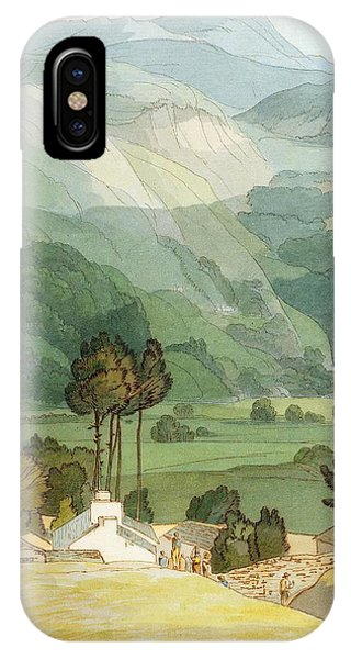 English Village iPhone Case - Ambleside by Francis Towne