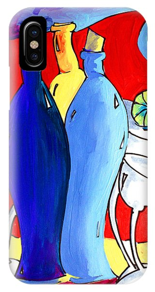 Ameeba 49- Bottles IPhone Case