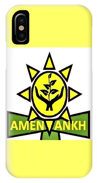 Amen Ankh IPhone Case