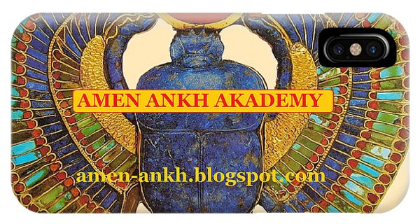 Amen Ankh Akademy IPhone Case