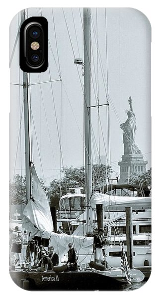 America II And The Statue Of Liberty IPhone Case