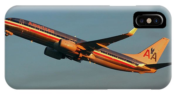 American Airlines 737 IPhone Case