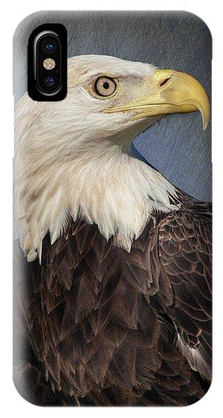 American Bald Eagle Portrait IPhone Case