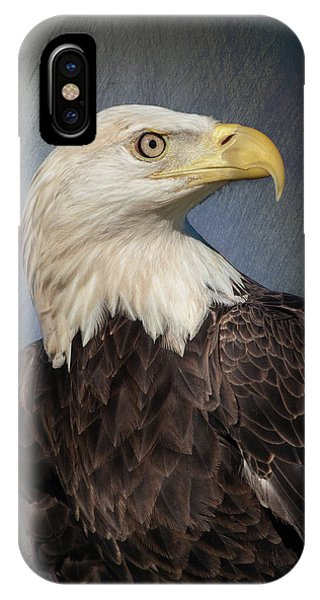 American Bald Eagle Portrait IPhone Case