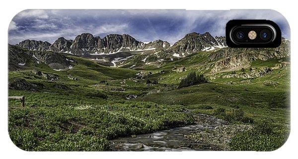 American Basin Trail Head IPhone Case