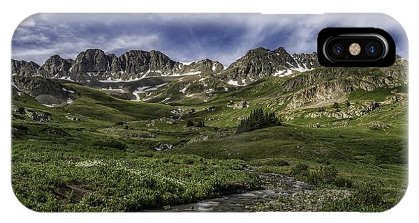 IPhone Case featuring the photograph American Basin Trail Head by Bitter Buffalo Photography