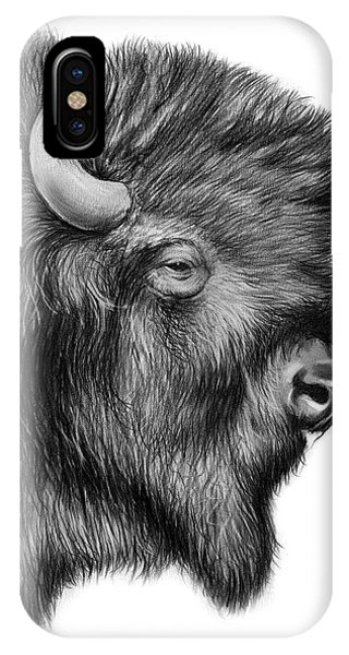 American Indian iPhone Case - American Bison by Greg Joens