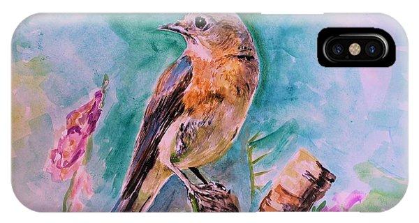 American Blue Bird IPhone Case