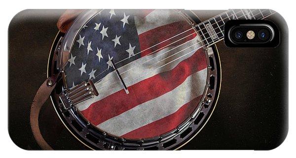 Strum iPhone Case - American Bluegrass Music by Tom Mc Nemar