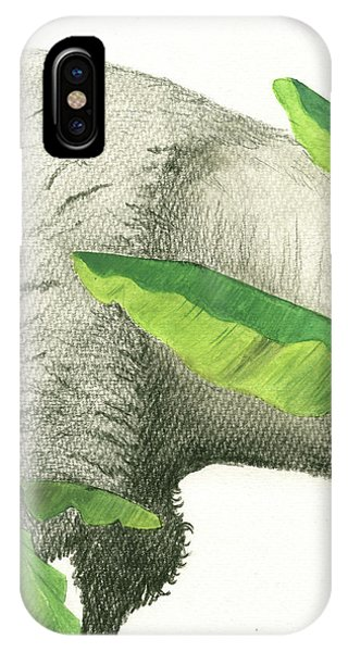 Banana iPhone Case - American Buffalo 2 by Juan Bosco