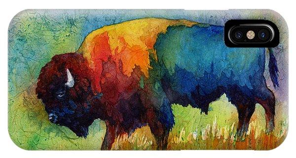 Wildlife iPhone Case - American Buffalo IIi by Hailey E Herrera