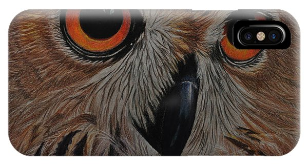American Eagle Owl IPhone Case