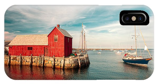 New England Barn iPhone Case - American Fishing Shack by Todd Klassy