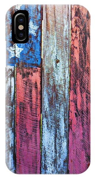 Landmark iPhone Case - American Flag Gate by Garry Gay