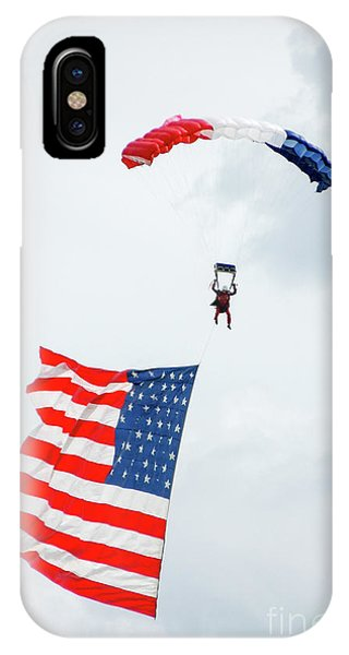 July 4 iPhone Case - American Flyer by Paul Quinn