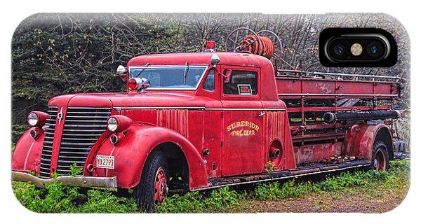 American Foamite Firetruck2 IPhone Case