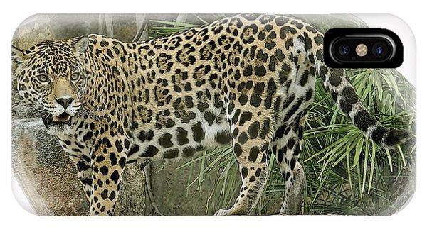 American Jaguar 18 IPhone Case