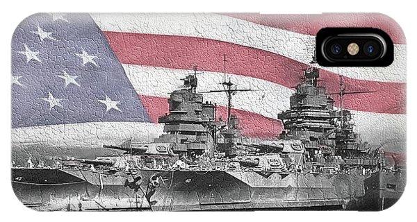 American Naval Power IPhone Case