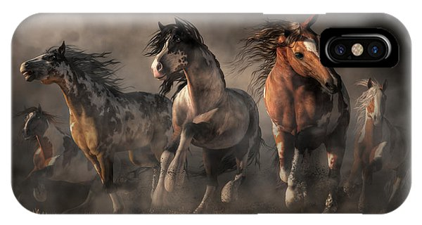American Paint Horses IPhone Case