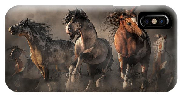 American Paint Horses IPhone Case