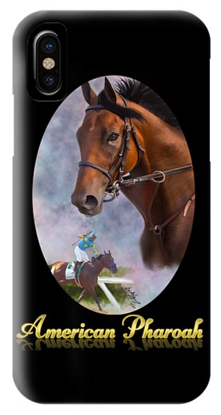 American Pharoah Framed IPhone Case